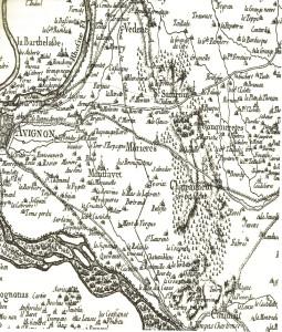 Carte de cassini XVIII° siècle